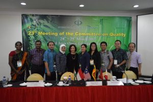 The 23rd Meeting of the IPC Committee on Quality