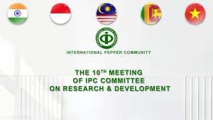 the 10th of IPC Committee on R&D 2021